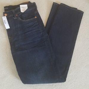 """NWT J.Crew Jeans """"770 Straight"""" Sz34×34"""
